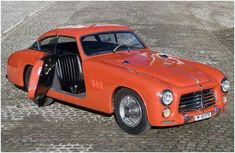 1951 Pegaso Z-102 - design Wifredo Ricart from Alfa Romeo - V8 - as good as it gets.