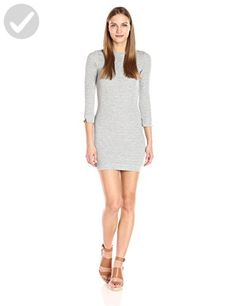 French Connection Women's Sudan Marl Dress, Grey Melange, 8 - All about women (*Amazon Partner-Link)