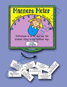 $1.00 MANNERS: LDS Activity Days – Serving Others - Goal 6, practice good manners and courtesy, family home evening, gospelgrabbag.com