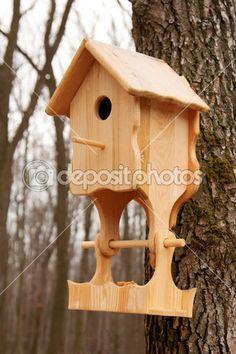 casas para pajaros madera - Google Search