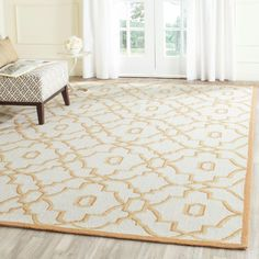 Four Seasons Ivory/Tan 8 ft. x 10 ft. Indoor/Outdoor Area Rug