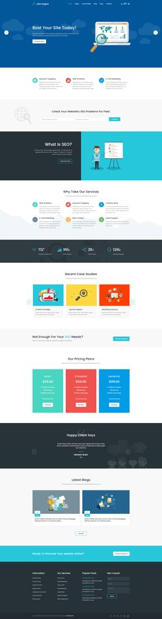 415 best HTML Template images on Pinterest   Html templates ...