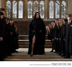 Funny pictures about Seductive Snape. Oh, and cool pics about Seductive Snape. Also, Seductive Snape. Severus Snape, Snape Harry, Harry James, Victorious, Must Be A Weasley, Broadway, The Rocky Horror Picture Show, Voldemort, Angelina Jolie