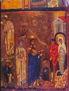 Annunciation, Transfiguration, and Raising of Lazarus