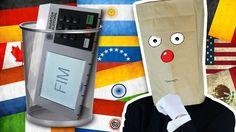 Urna Eletrônica Brasileira #Lixo @Otário Anonymous Canal do Otário