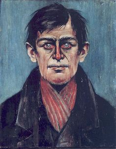 Lowry, Laurence S. - Head of a Man With Red Eyes (The Lowry, Salford, England) Selfies, English Artists, Art Uk, Types Of Art, Portrait Art, Male Portraits, Art Google, Painting & Drawing, Fine Art