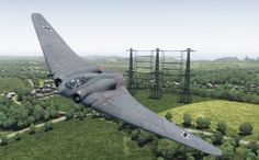 Horten Ho 229, Military Jets, Military Aircraft, Luftwaffe, Airplane, Air Force, Fighter Jets, Vehicles, Planes