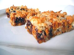 7 layer bars? Sub butterscotch for toffee pieces