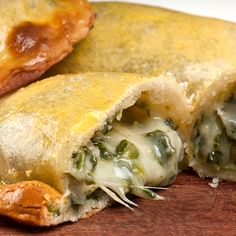 This empanada recipe makes a tasty appetizer. Spinach Empanadas Recipe from Grandmothers Kitchen.