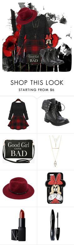 """"""":)"""" by katiecutie31 on Polyvore featuring Torrid, Charlotte Russe, Forever 21, NARS Cosmetics and Lancôme"""