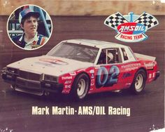 A young Mark Martin. Nascar Race Cars, Nascar Sprint Cup, Old Race Cars, Mark Martin, Racing Team, Auto Racing, Classic Race Cars, Car Racer, Popular Sports