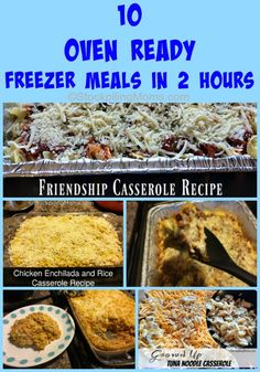 Oven Ready Freezer Meals in 2 Hours Here is a step by step on how to make 10 Oven Ready Freezer Meals in 2 Hours! No worry about what's for dinner for 2 weeks!What What is an interrogative pronoun and adverb in English. What or WHAT may also refer to: Chicken Freezer Meals, Freezer Friendly Meals, Slow Cooker Freezer Meals, Freezer Cooking, Cooking Recipes, Dump Meals, Cooking Tips, Crockpot Meals, Drink Recipes