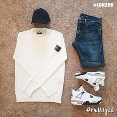 outfitgrid: Todays top is by & Dope Outfits For Guys, Edgy Outfits, Urban Outfits, Swag Outfits, Cool Outfits, Dope Fashion, Urban Fashion, First Date Outfits, Hype Clothing