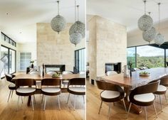 Romantic dining area open to solid wood interior flooring covering hot idea ambience