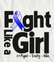 ALS Lou Gehrig's Disease Motto - Fight Like a Girl...