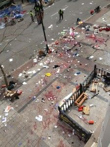Boston Marathon Bombing, April 15th, 2013
