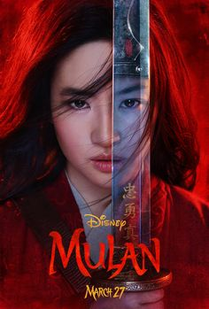"""Walt Disney Studios have just dropped a teaser trailer for the live-action film """"Mulan"""". Mulan, played by Yifeu Lu, goes from calm little girl Jason Scott Lee, Gong Li, Jet Li, 2020 Movies, New Movies, Movies To Watch, Movies Online, Movies Free, Family Movies"""