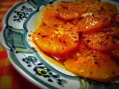 Taronja amb canyella i cacau