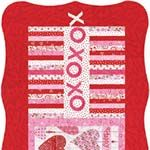 """Always and Forever- Table Runner by Deb Strain size: 28 1/4"""" x 52""""Free pattern  download from http://www.unitednotions.com/fp_always-and-forever.pdf VisitSite for free patterns:  http://blog.modafabrics.com/funfree/free-patterns/"""