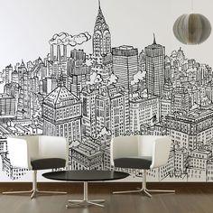 eu.Fab.com | New York Wall Sticker