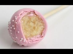 How to make Starbucks Birthday Cake Pops - can't wait to try this one!!