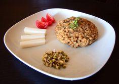 Prejt z fazolek mungo a ječných krup Risotto, Vegan, Ethnic Recipes, Food, Essen, Meals, Vegans, Yemek, Eten