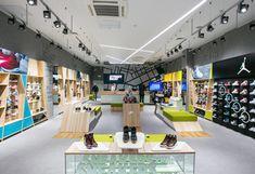 Street Beat urban fashion footwear retail store design by Shopworks