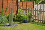 3ft 9 (1.2m/100cm) Standard Three Tiered Tubes Water Feature With Lights on Base