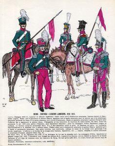 Granducato di Berg - Chevauleger Lancers - 1810-13