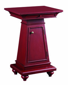 BROYHILL IHFC The New Vintage washstand is shown in a classic red, one of four antique-inspired finishes. Furniture Market, High Point, Spotlight, Inspired, Antiques, Classic, Inspiration, Vintage, Home Decor