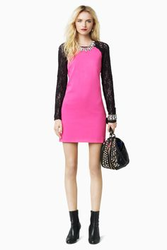 Juicy Couture #lace #brights #colorblock