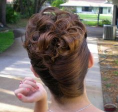 french twist, crowning ringlets | Flickr - Photo Sharing!