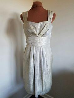 Jessica Howard Size 6 Gold Sheath Special Occasion Dress NWT #JessicaHoward #Formal