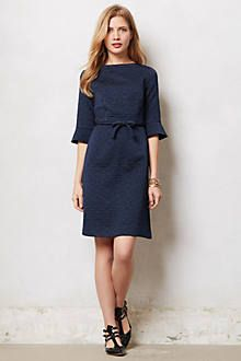 Anthro Quilted Aude Dress