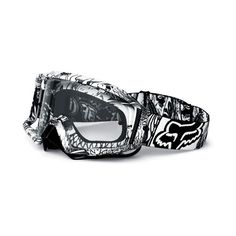Goggles >> Fox Racing The Main Pro Latinese Goggle ❤ liked on Polyvore