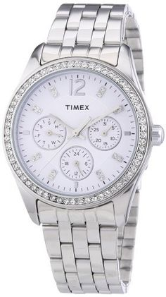 Timex Stainless Steel Ladies Watch >>> Find out more about the great product at the image link. Timex Watches, Amazon Associates, Stainless Steel, Detail, Lady, Image Link, Accessories, Women, Jewelry Accessories