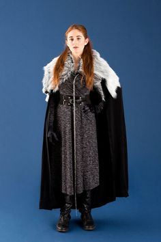Transform into Game of Thrones' Sansa Stark for Halloween with this DIY costume.