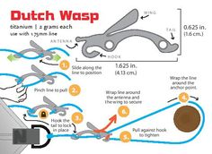Tarp And Quilt Stuff :: Wasp (Single) - Dutchware Gear   Makers of Dutch Clips and other Hammock Accessories