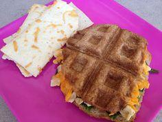 Honeyville Farms - Cookin Cousins... waffle iron panini sandwiches