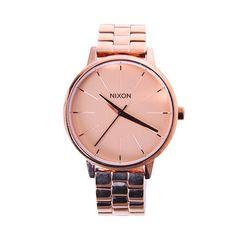 ecdfcf182 Hodinky Nixon Kensington all rose gold, 5390 Kč | Slevy hodinek Michael  Kors Watch,