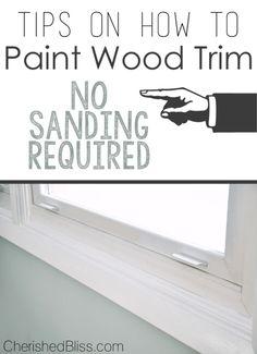 1000 Ideas About White Trim Paint On Pinterest White