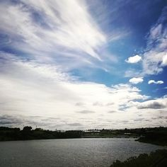Clouds over Hopkins river #Warrnambool #river #clouds #sky #beautiful #destinationwarrnambool #Victoria #Australia by bobh1950