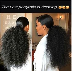 Provide High Quality Full Lace Wigs With All Virgin Hair And All Hand Made. Wholesale Human Hair Wigs Best Edge Control For Natural Black Hair African American Braided Wigs Hair Ponytail Styles, Weave Ponytail Hairstyles, Sleek Ponytail, Curly Hair Styles, Natural Hair Styles, Curly Ponytail Weave, Ponytails For Black Hair, Low Ponytails, Dreadlock Hairstyles