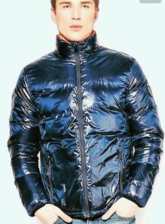 Moncler men winter black down coats Love to fall into his love. Cool Jackets, Winter Jackets, Black Down, Hot Boys, Moncler, Cute Guys, Mens Fashion, How To Wear, Clothes