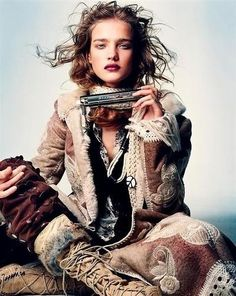 Pretty Women by belphegor . ★ ❥ #bohemian #boho #gypsy #fashion #model #photography #style #inspiration