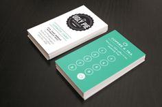 The Ugly Pie Bakery & Cafe loyalty reward card for coffee & teas.