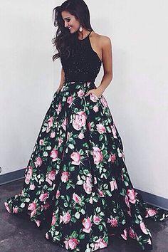 2016 prom dresses, halter prom dresses, Laura Mara same style prom dresses, new arrival prom dresses, prom dresses with black beaded, christmas party dresses, ball gown party dresses, dress for birthday dress