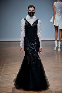 my favorite gown at On Aura Tout Vu #couture SS 14