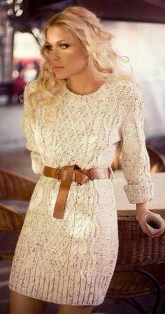 Belted Dress Cardigan