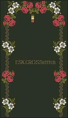 Violets, Railings, Dish Towels, Game, Dibujo, Cross Stitch Patterns, Pansies